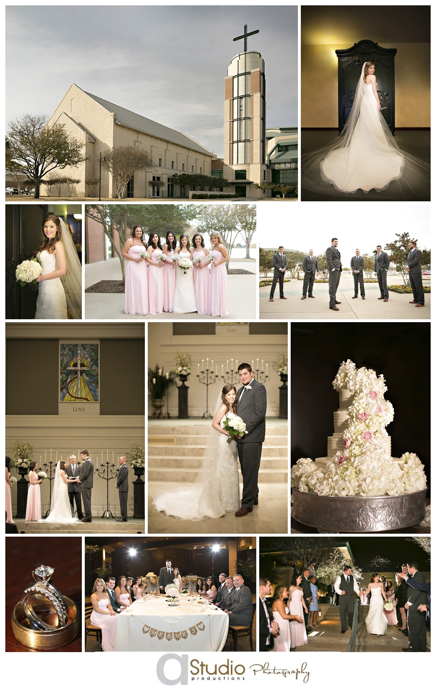 St Francis Frisco >> Prestonwood Baptist Church Wedding Photographer Plano, Texas   Mark+Kaley Buster » http://www ...