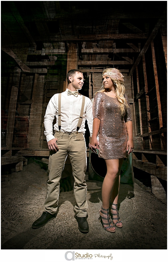Gatsby Themed Wedding Engagements Aaronerika